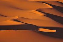 Sandstrukturen, Wüste, Südalgerien, Dünen