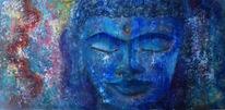 Freude, Besinnlichkeit, Buddha, Blumen