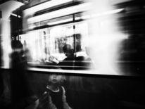 Bahn, Erwartung, Bewegung, Abteil