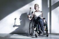 Zepter, Mann, Inklusion, Behinderung