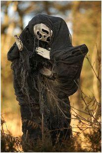Tod, Kostüm, Tageslicht, Fotografie
