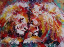 Abstrakt, Gemälde, Tiere, Schweizer