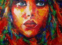Gemälde, Acrylmalerei, Abstrakt, Erotik