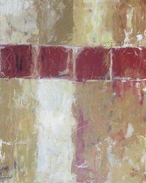 Malerei, Beige, Kreuz