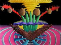 Malerei, Ölmalerei, Abstrakt, Synästhesie