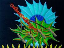 Ölfarben, Synästhesie, Malerei, Abstrakt