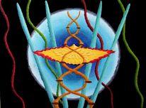 Synästhesie, Malerei, Ölmalerei, Abstrakt