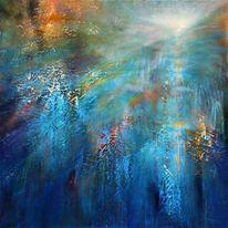 Gemälde, Traum, Positiv, Licht