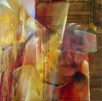 Porträtmalerei, Expressionismus, Gesicht, Kind