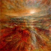 Landschaft, Hell, Abstrakt, Licht