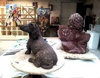 Dackel, Werkstatt, Hund realistisch, Ton