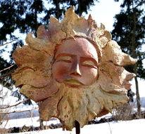 Sonne, Surreal, Expressionismus, Skulptur