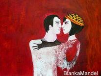 Tango, Paar, Malerei,