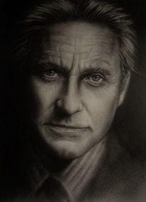 Portrait, Mann, Ölmalerei, Menschen