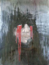 Kind, Rot schwarz, Schmerz, Braun