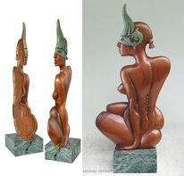 Relief, Objekt, Keramik, Figur