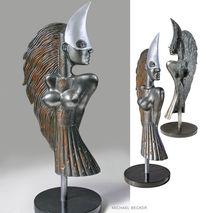 Grau, Objekt, Metallik, Frau