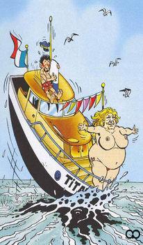 Gladbeck, Comic, Politik, Aktion