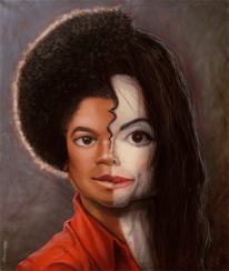Surreal, Fiktion, Michael jackson, Karikatur