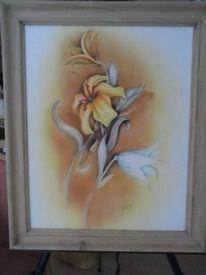Orchidee, Herbst, Warme farben, Blumen