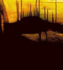 Abendstimmung, Sonnenuntergang, Meer, Landschaft
