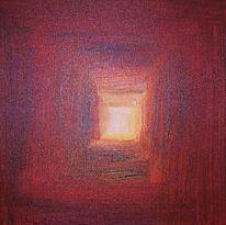 Malerei, Licht, Tür