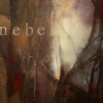 Nebel, Diffus, Verschleiern, Malerei
