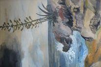 Cap ferrat, Mittelmeer, Agaven, Malerei