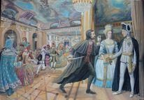 Oper, Mord, Maskenball, Malerei