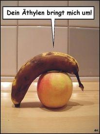 Ethen, Apfel, Äthen, Ethylen