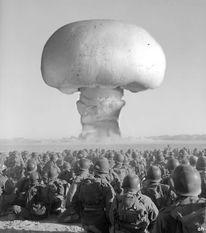 Krankheit, Mush, Blitz, Militärübung desert mushroom
