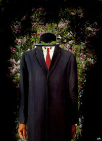 Magritte, Apfel, Homme, Filou