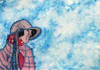 Aquarellmalerei, Sehnsucht, Kunststück, Trauer