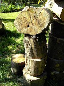 Holz, Readymade, Plastik