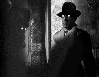 Humphrey bogart, The big sleep, Digitale kunst, Haus