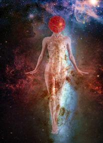 Frau, Galaxie, Venus, Körper
