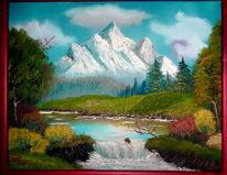 Natur, Wasserfall, Landschaft, Nass