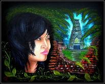 Realismus, Heimweh, Portrait, Thai