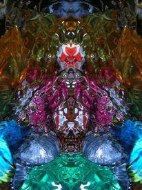 Farben, Komposition, Spiegel, Lichtspiel