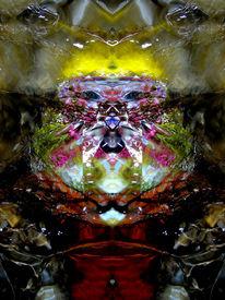 Elemente, Lichtspiel, Fantasie, Spiegelbild