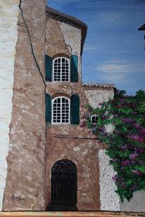 Fenster, Gebäude haus, Provence, Haus