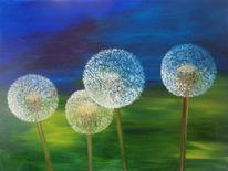 Malerei, Pusteblumen