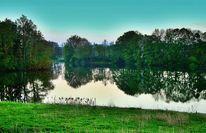 Ufer, Wasser, Ruhe, Frühling