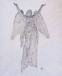 Zeichnungen, Engel, Zeit