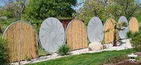 Kunsthandwerk, Design, Mast, Garten