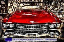 Auto, Amerika, Cadillac, Oldtimer