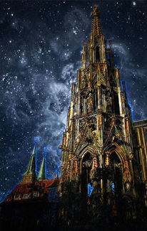 Nürnberg, Fotografie, Nacht