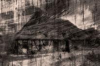 Haus, Sturm, Digitale kunst