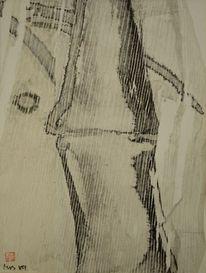 Sumi, Bambus, Zeichnung, Malerei