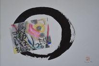 Zen, Bleil, Kreis, Japantusche